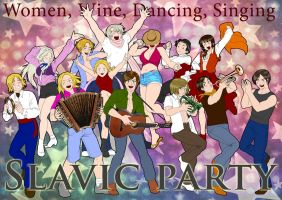 Slavic Party by Janemin