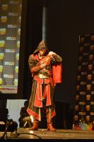MCM Eurocosplay Masquerade 2014 Ezio Auditore by Lady-Avalon