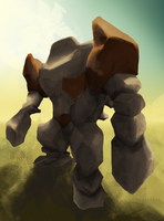 Regirock the golem of Helem