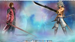Wallpaper FF VII CC-DoC - Genesis and Weiss by Anarloth