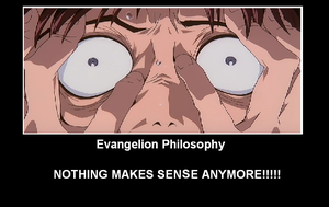 Evangelion Demotivator by MoonwolfYouthOtaku