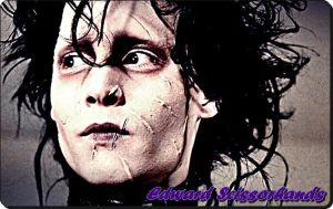 Edward Scissorhands by LouiseRubbyB