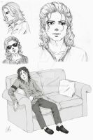 MJ sketch dump by Meggy-MJJ