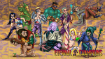 Comical EC Group Picture by Hyde209