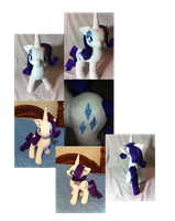 Rarity plush collage - jointed by PlanetPlush