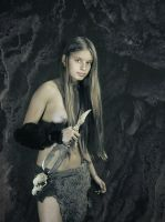 Alena with double dagger #2 by ohlopkov