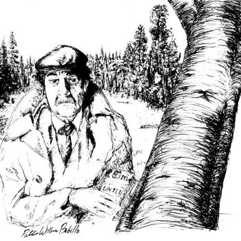 Vonnegut Emerging from the Woods by PWBobillo