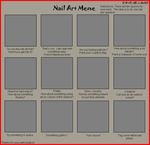 Nail Art Meme Blank by devils-girl-midnight