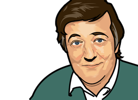 Stephen Fry by greenycrimson