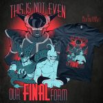 DRAGON BALL Z qwertee design - VOTE PLEASE! by mortinfamiART