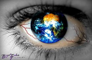 World In The Eye by byezuke