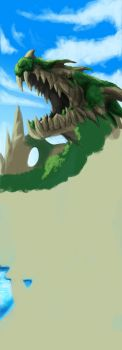 Dragon Cave //WIP// by Fragments-of-Hearts