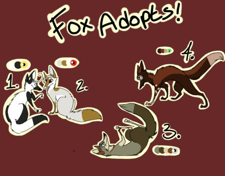 Fox Adopts! CHEAP [open] by intheCityofDreams