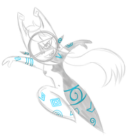 Midna Doodle by PuccaFanGirl