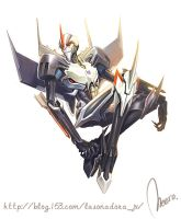 TFP Starscream by H-E-E-R-O-Y-U-Y
