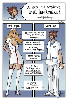 A quoi ressemble une infirmiere? by Hypoflyse