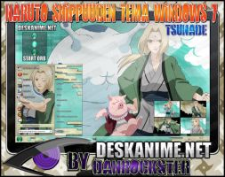 Tsunade Theme Windows 7 by Danrockster