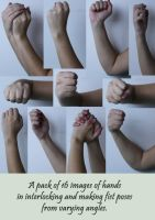 Hand References 3 by Tasastock