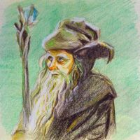 Radagast the Brown by Charmanderlain