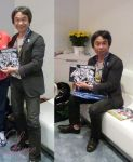 Shigeru Miyamoto and My Drawing!!2 by laahmichelle