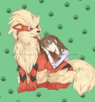 Me and My Arkie Arcanine by ChiisaiKabocha17