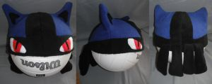 Lucario Hat by SamalaKatal