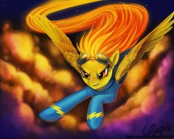 Spitfire by LaurenMagpie