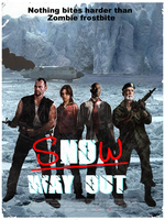 L4d Poster - 'Snow Way Out' by KeybladeMeister