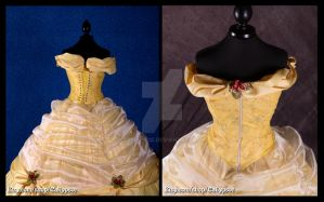 Belle's Ball Gown 2 by Caliypsoe