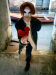 A rose for you - Veneziano Vargas by Chocho-Takeda