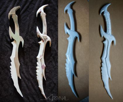 Daedric sword work in progress by ArsynalProps