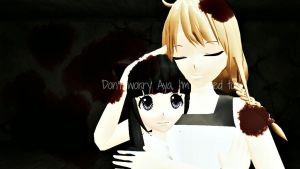 .:Don't worry Aya:. by deoxys90