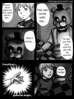 FNAF comic pag 2 by huntersparda