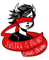 Justice is Blind by princesspizza