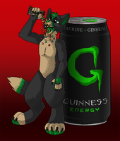 Guinness Energy! by KalunaSkunk