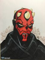 Darth Maul by Pauljhill