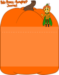 Prince Pumpkin Journal Skin by Ask-Moon-Spirit