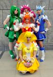 Smile! Precure group by Ravelcoplay