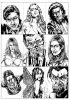 X-Men First Class Movie Cards 2 by ncajayon