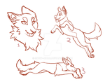 Canine YCH batch - ( OPEN ) ONE LEFT!! by snowpups123