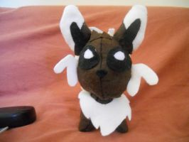 Noeon plushie *front* by millo486