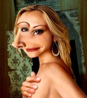 Julia Roberts Picasso by funkwood