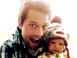 Misha Collins and West by CeNa-Fan