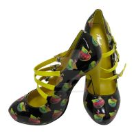 Poison Apple Strappy Pumps by marywinkler