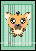 Kawaii Hyena by martagd