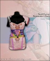 Serah Farron: Summoner's Garb - Back view by TheIronRing