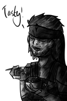 Ask Snake: Tasty! by AkariMMS
