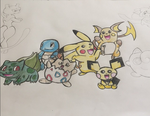 Pokemon in the Making 1 by Amy-pink