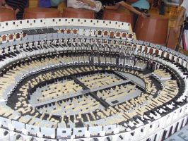 Coliseum of Rome - LEGO by Gexon