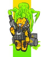 Quick and Dirty Toxic Suit by Yoblicnep